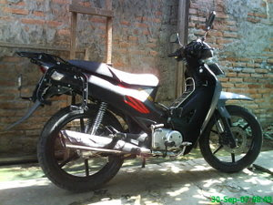 contoh modifikasi motor honda karisma 125d