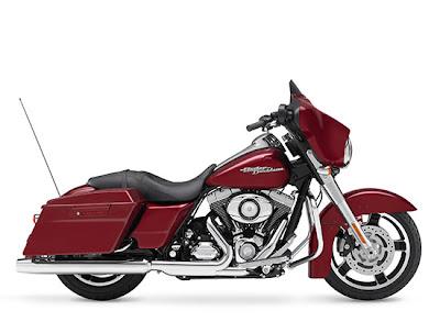 Touring Harley Davidson Street Glide FLHX