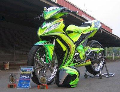 Yamaha Jupiter MX Simple Modifikasi