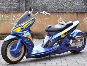 Gambar Modifikasi Honda Vario Futuristik Style