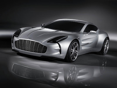New Exotic Aston Martin One-77