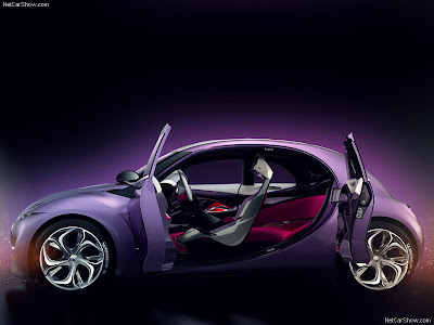 Citroën REVOLTe Concept reflects the alteration role of baby cars with