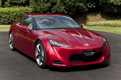 2009 Toyota FT-86 Concept Car