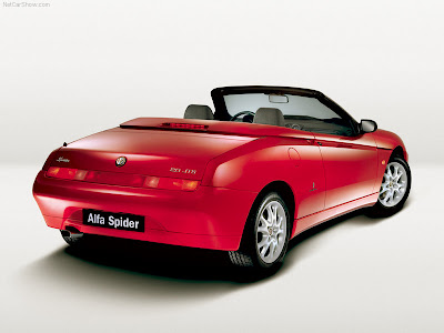 Alfa Romeo Spider Six Cylinder Engines