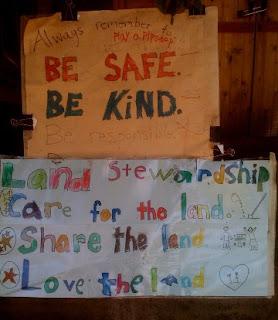 Grattan School Children's Garden Signs
