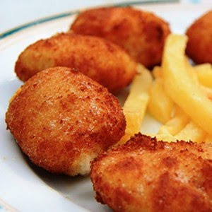 Cocinando poes a croquetas de pollo - Platos de pollo faciles ...