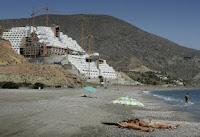 Construcción ilegal Hotel Azata del Sol en el Algarrobico