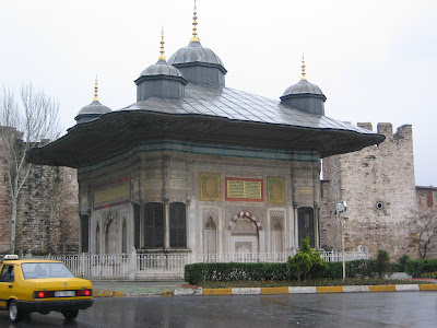 The Guardhouse outside Topkapi Palace at the Gate of the Janissaries
