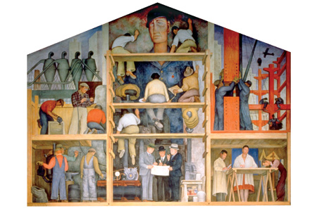 Aartvark field notes some wpa murals in san francisco for City college of san francisco diego rivera mural