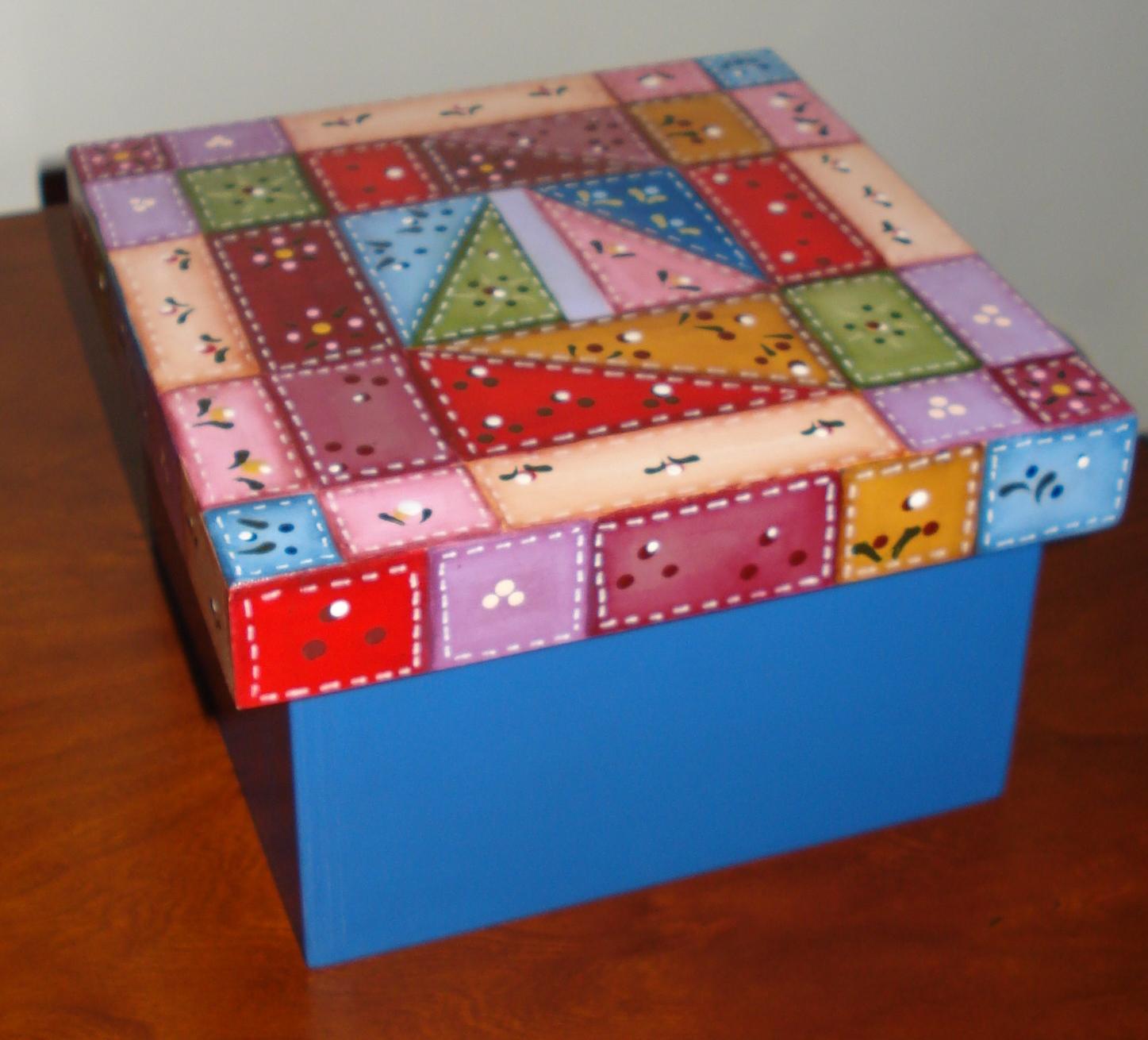 caixa de madeira tintas acrílicas e pinta bolas técnicas pintura #B11A1B 1447x1310