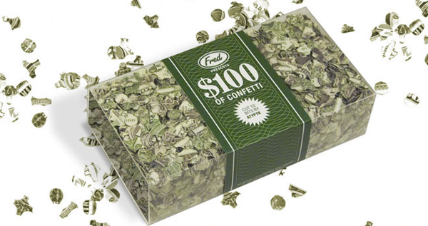 $100 Of Confetti