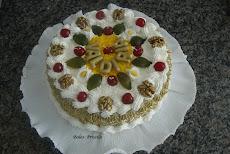 Torta Bolo Nozes