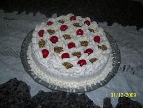 Torta Nozes Natalina - Chef Álvaro Rodrigues