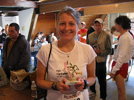 Me with trophy from MADD Dash in New Haven