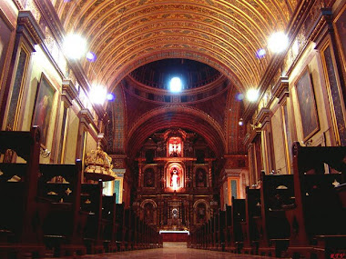 por dentro de la iglesia moderna
