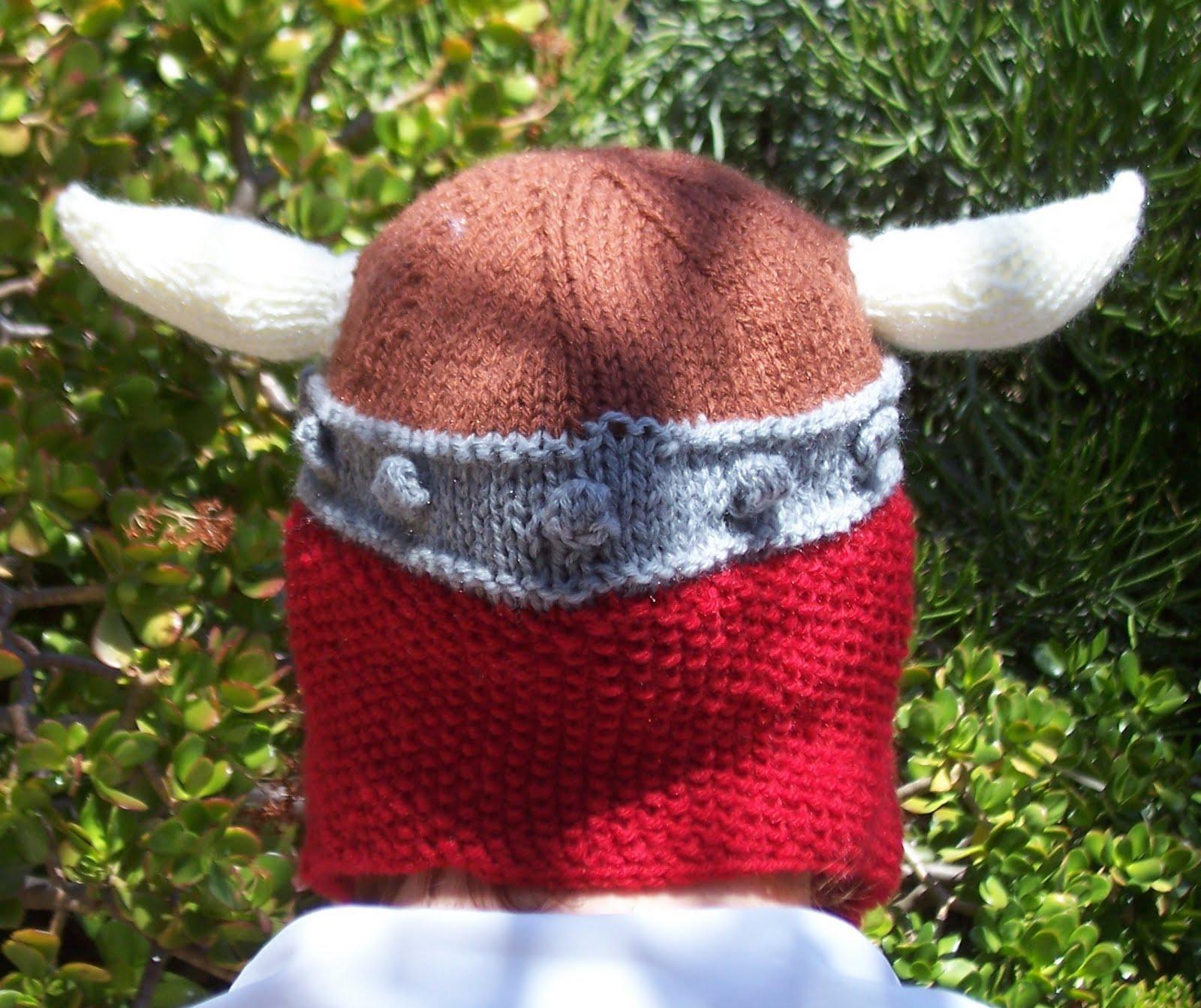The Crafty Knitty Gritty: Viking Balaclava