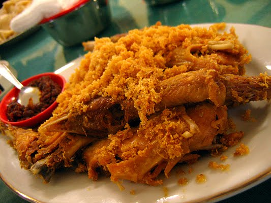 Resep Ayam Goreng Kremes Dan Sambal