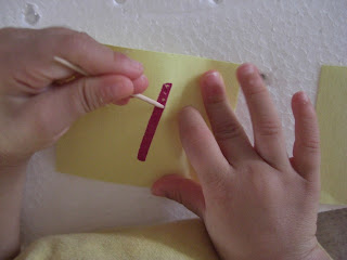 Image result for pricking paper trace letters
