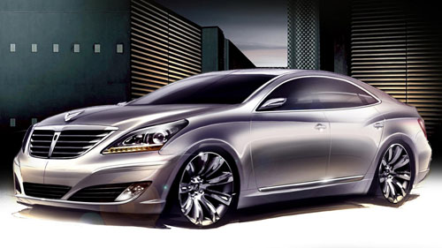 Hyundai surprised the automotive world when displayed the 2010 Hyundai Equus