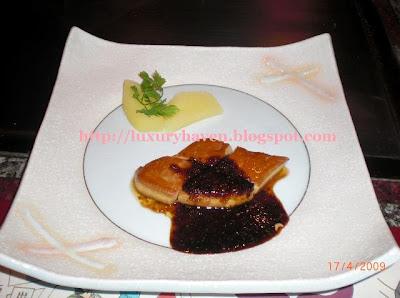 hama steak house tokyo foie gras
