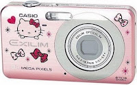 limited edition hello kitty casio camera