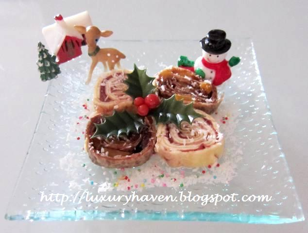 how to make christmas fruity tutti pinwheels
