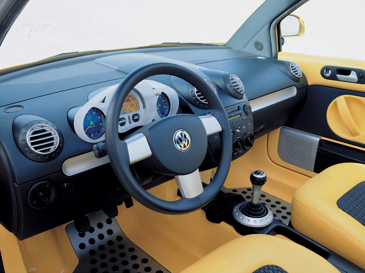 this vw vw new beetle dune interior 1280x960. Black Bedroom Furniture Sets. Home Design Ideas