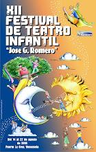 XII FESTIVAL DE TEATRO INFANTIL Jose G. Romero.