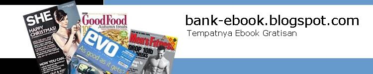 Bank Ebook: Tempatnya Ebook Gratis