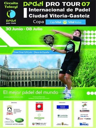Sport padel i internacional de p del ciudad de vitoria for Caja vital oficinas vitoria