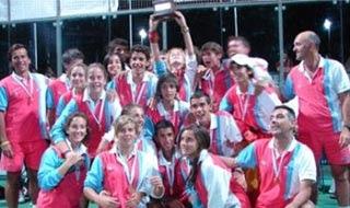 EspañaCampeona del Mundo de Menores de Pádel