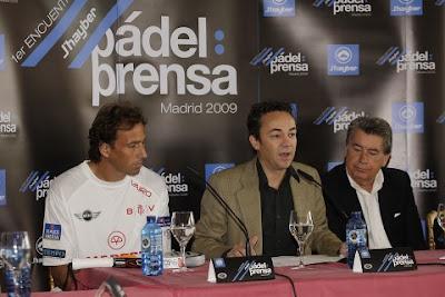 Encuentro Padel-Prensa