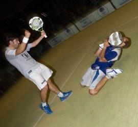 Seba Nerone y Cristian Gutierrez celebrando su victoria