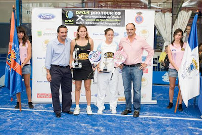 Ceci Reiter y Paty Llaguno ganan su primer torneo Padel Protour