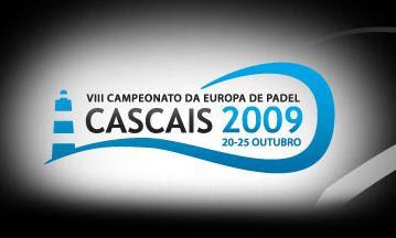Logotipo del Campeonato europa padel 2009