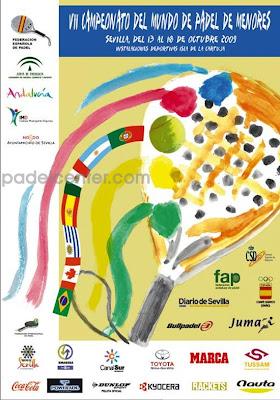 Cartel Mundial de Pádel de Menores 2009
