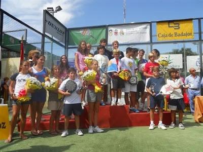 Padel: Campeonato de España de Menores