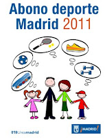 Abono deporte Madrid 2011