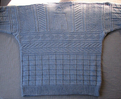 Free Knitting Patterns For Guernsey Sweaters : GANSEY SWEATER KNITTING PATTERNS Free Knitting and ...