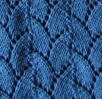 Green Leaves Imp Hat - Free Knitting Pattern: