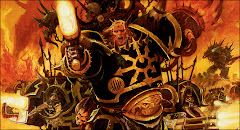 space marines fallen to the powers of chaos, the black legion follow abbaddon in his black crusades