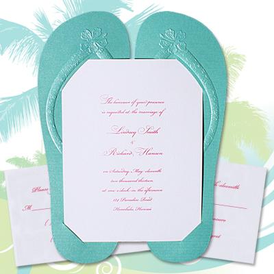 Beach Wedding Invitation Etiquette