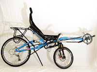 2008 Oracle Omega recumbent road bicycle