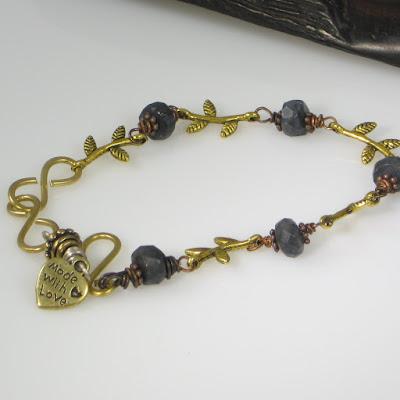 Midnight Romance Anklet/Bracelet donated by SassyDLite