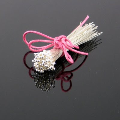 26g fine silver ball end headpins available at www.gahooletreesupplies.etsy.com