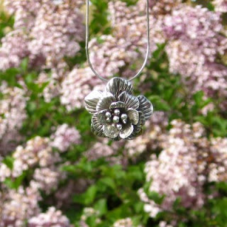 Sterling Blossom Necklace