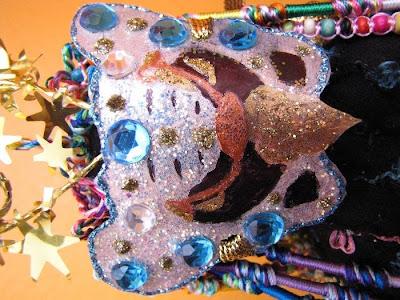 art dolls, healing dolls, altars, bead embroidery, beading, camilla la mer, hysterectomy, jungian art, jungian psychology, shaman dolls, spirit dolls, the sea