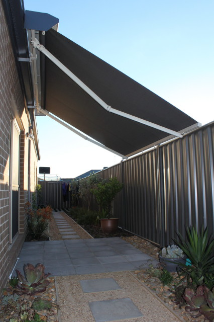 Outdoor Awnings Bunnings Smart Home Products 240 x 240cm Clear