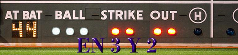 En 3 y 2 Béisbol Blog