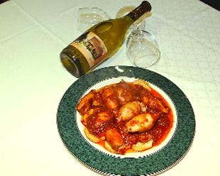 La cocina de maripuchi co chipirones rellenos en salsa - Chipirones rellenos en salsa de tomate ...